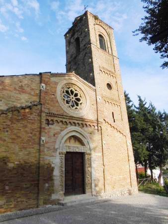 Pianella, chiesa romanica di Santa Maria Maggiore