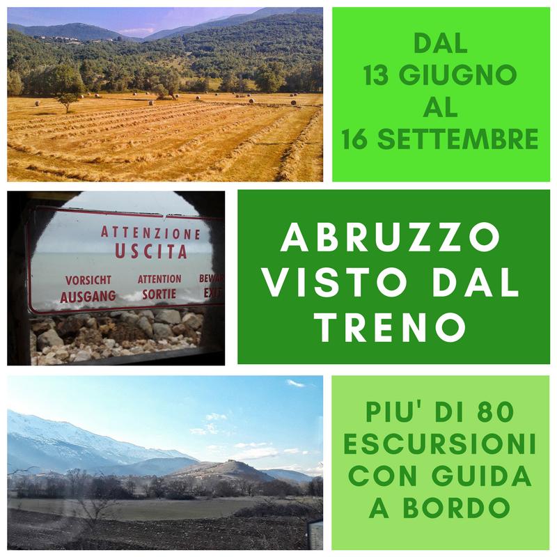 Abruzzo visto dal treno