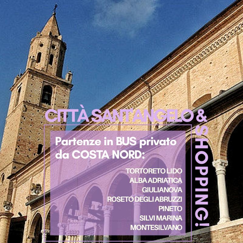 Città Sant'Angelo & shopping: escursioni di mezza giornata