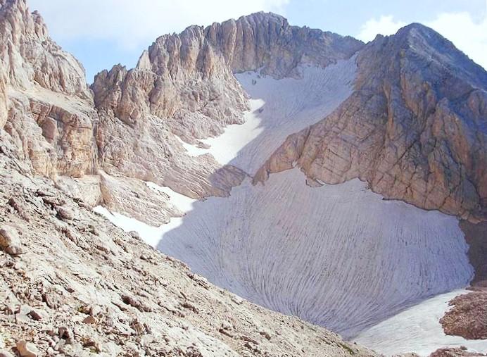 ghiacciaio del calderone gran sasso