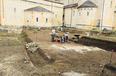 scavi arceologici a corfinio