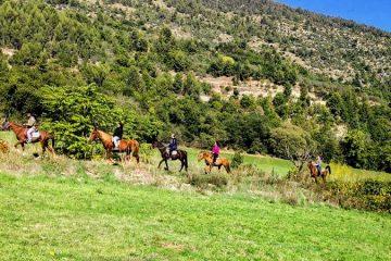 valle peligna a cavallo