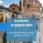sulmona 22 marzo 2020