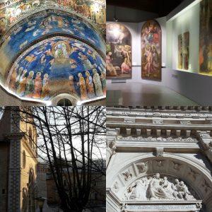 l'aquila foto di chiese restaurate e munda