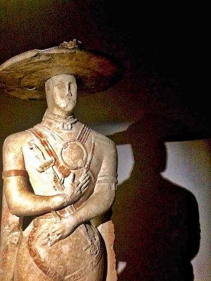 guerriero di capestrano, museo archeologico nazionale di chieti